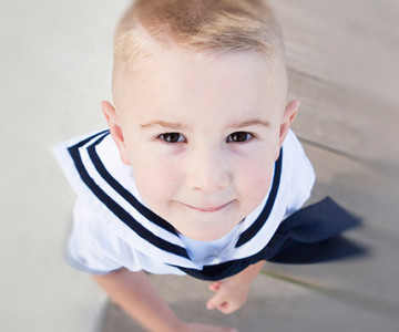 Sailor Family Session - Hillarys Boat Harbour in Perth